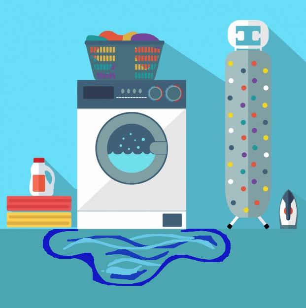 Leaking washer